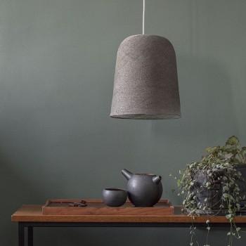 Lamp Jupe grafiet met het licht uit