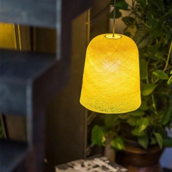punto luce con paralume JUPE giallo acceso