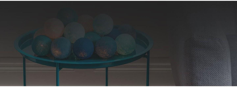 Guirlande de boules lumineuses à composer avec ampoules à filaments
