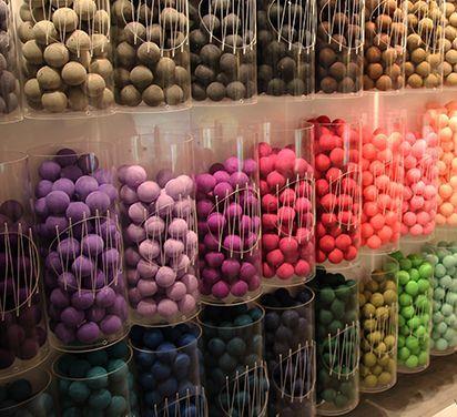 Balls in detail