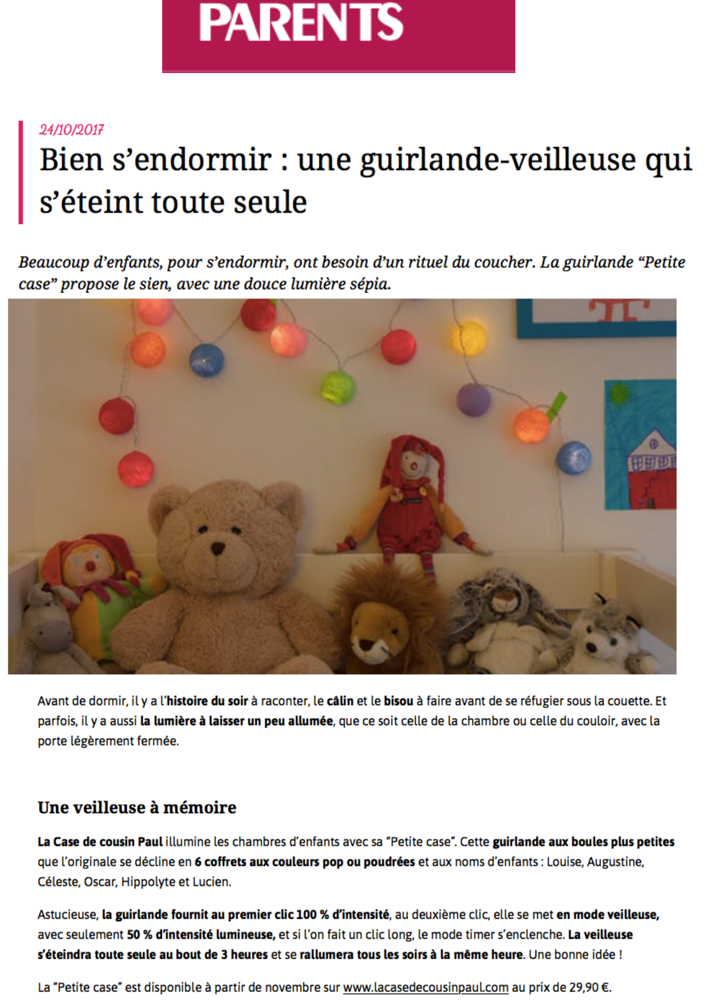 article de Parents.fr